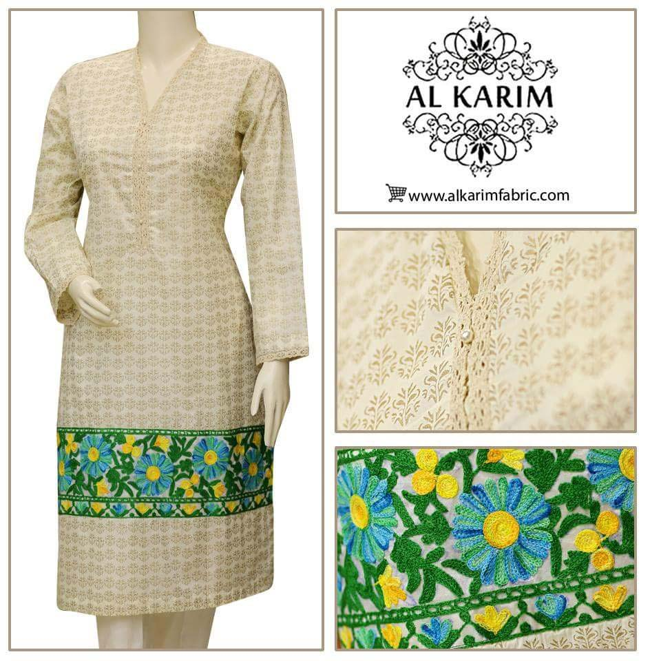 Al Karim Spring Pret Wear Collection Volume 1 2016-2017