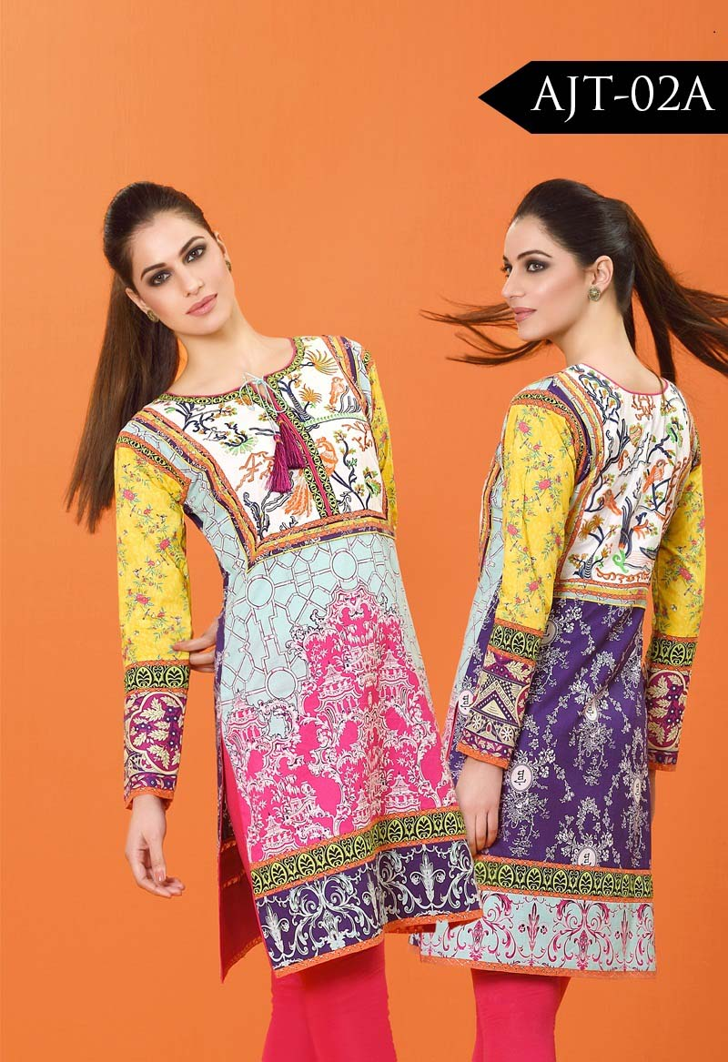 Asim Jofa Tunic Embroidered Kurties Collection 2016-2017..styloplanet (17)