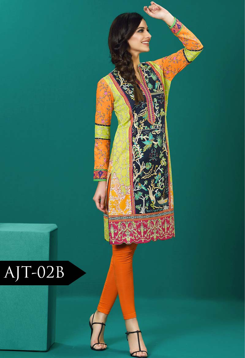 Asim Jofa Tunic Embroidered Kurties Collection 2016-2017..styloplanet (19)