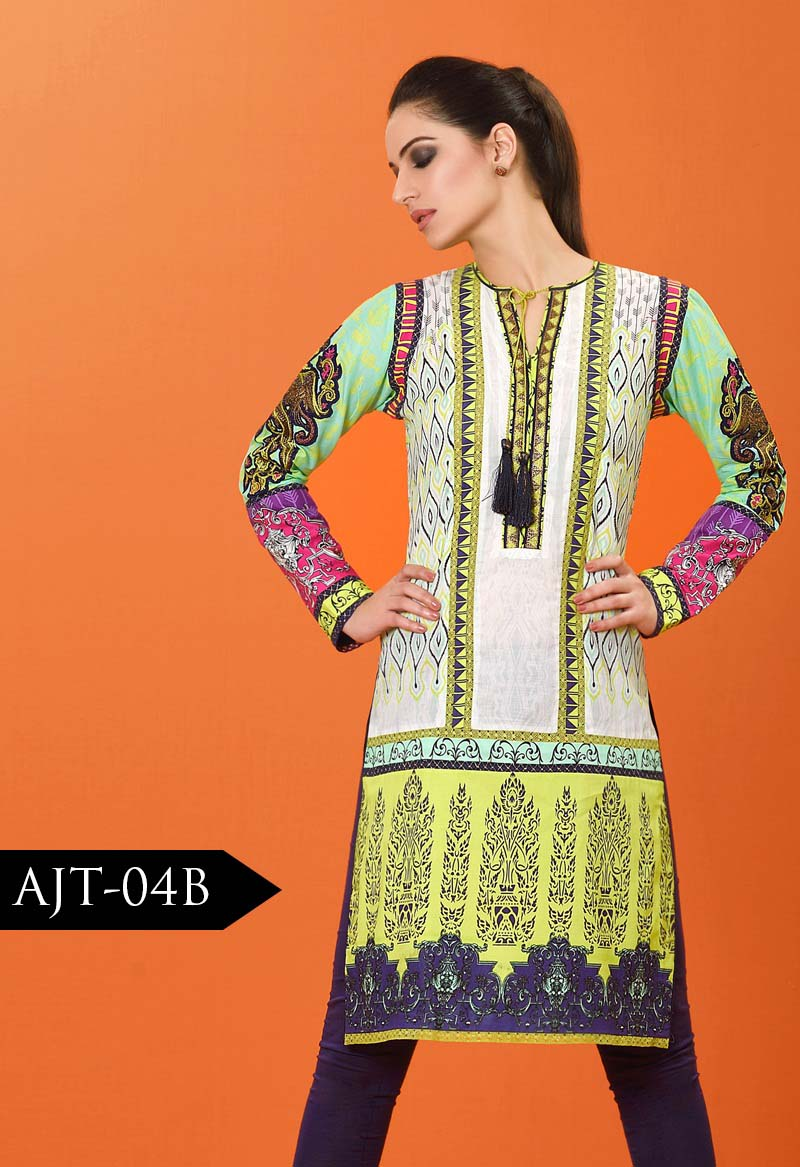 Asim Jofa Tunic Embroidered Kurties Collection 2016-2017..styloplanet (2)
