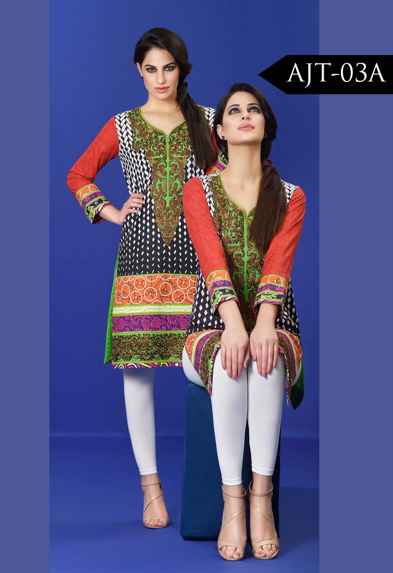 Asim Jofa Tunic Embroidered Kurties Collection 2016-2017..styloplanet (21)