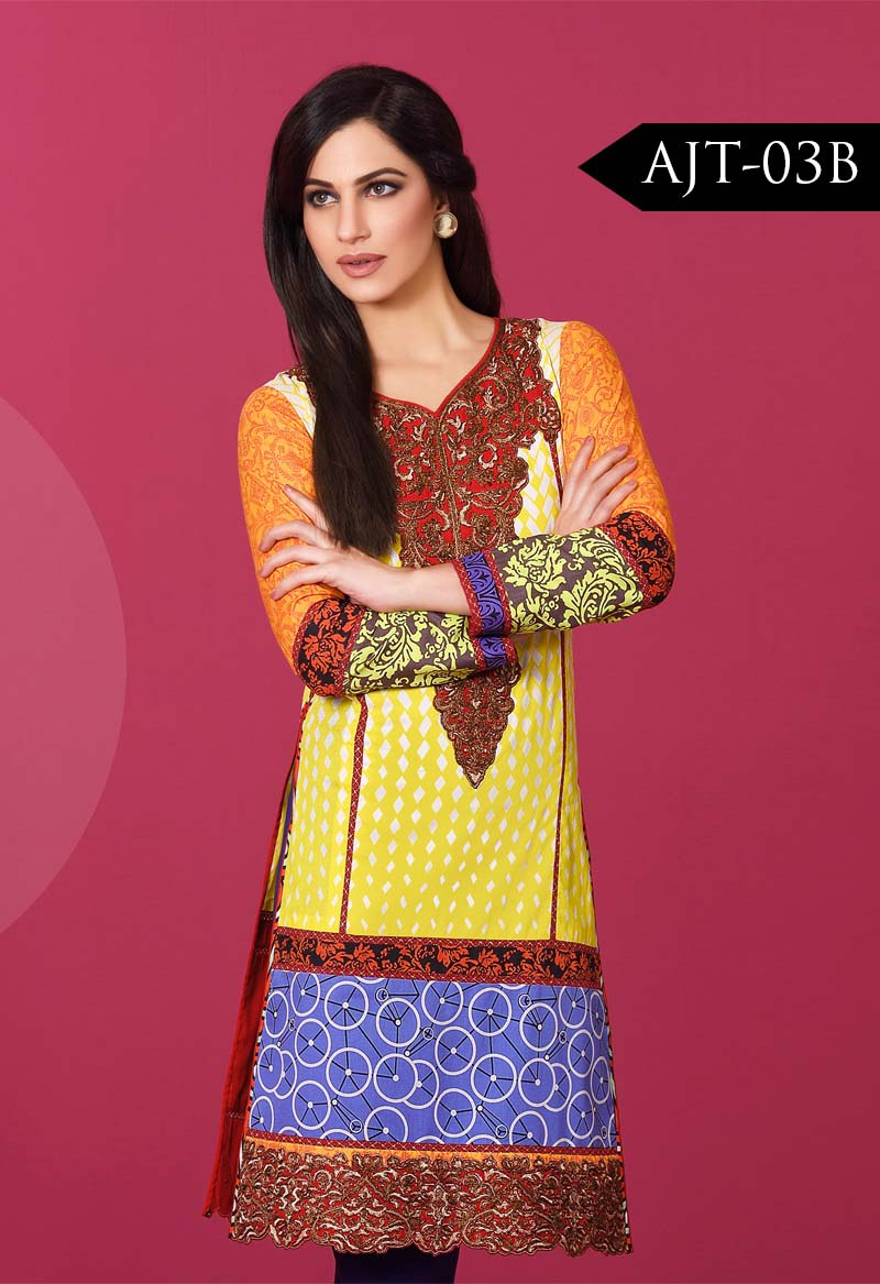 Asim Jofa Tunic Embroidered Kurties Collection 2016-2017..styloplanet (22)