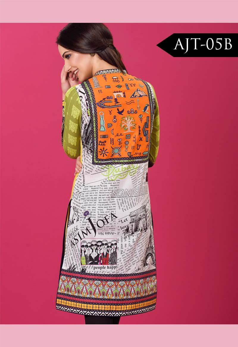 Asim Jofa Tunic Embroidered Kurties Collection 2016-2017..styloplanet (5)