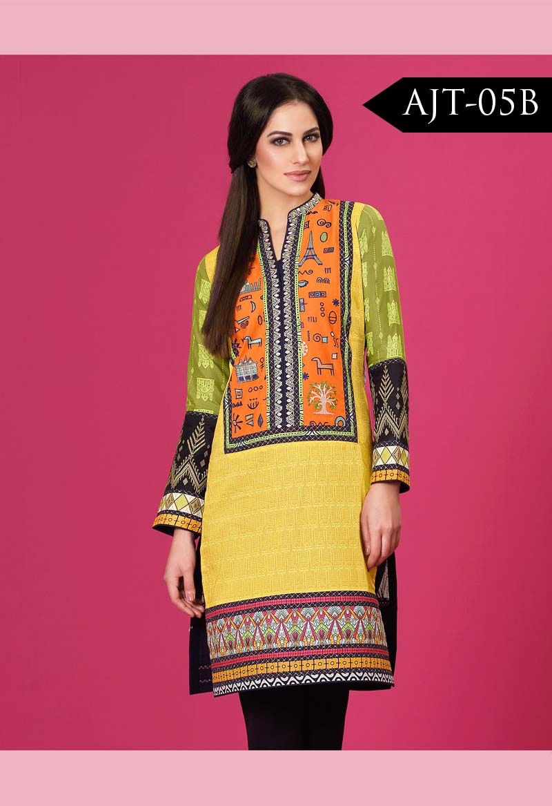 Asim Jofa Tunic Embroidered Kurties Collection 2016-2017..styloplanet (6)