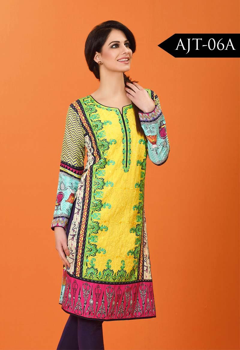 Asim Jofa Tunic Embroidered Kurties Collection 2016-2017..styloplanet (8)