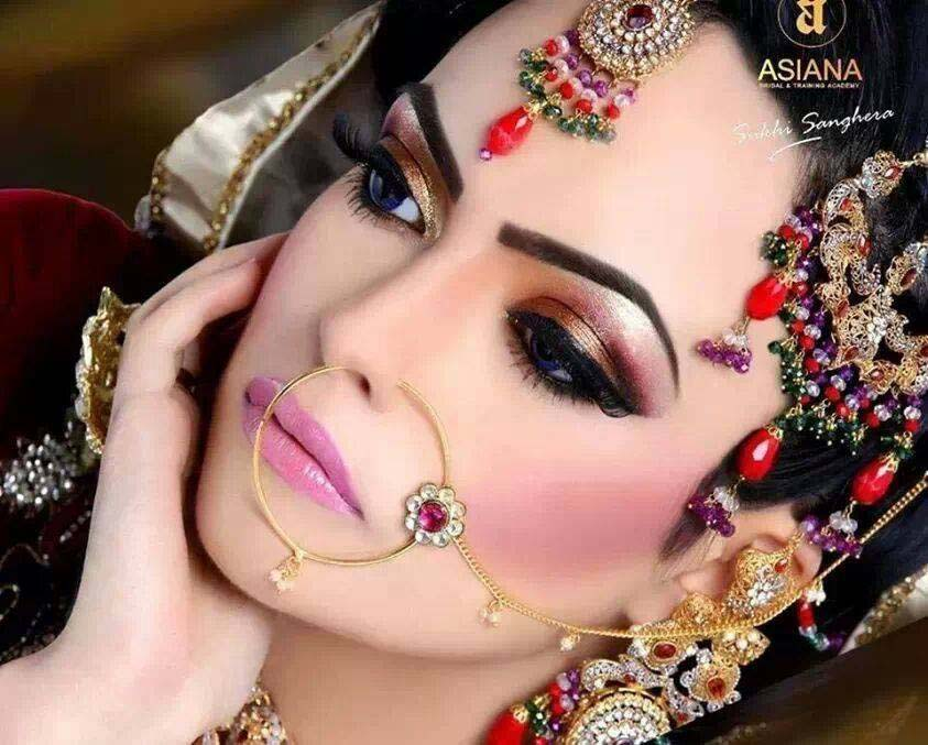Best Pakistani Bridal Makeup Tips & Ideas For Basic Steps (12)