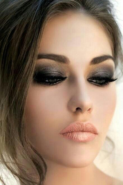 step by step smokey eye makep