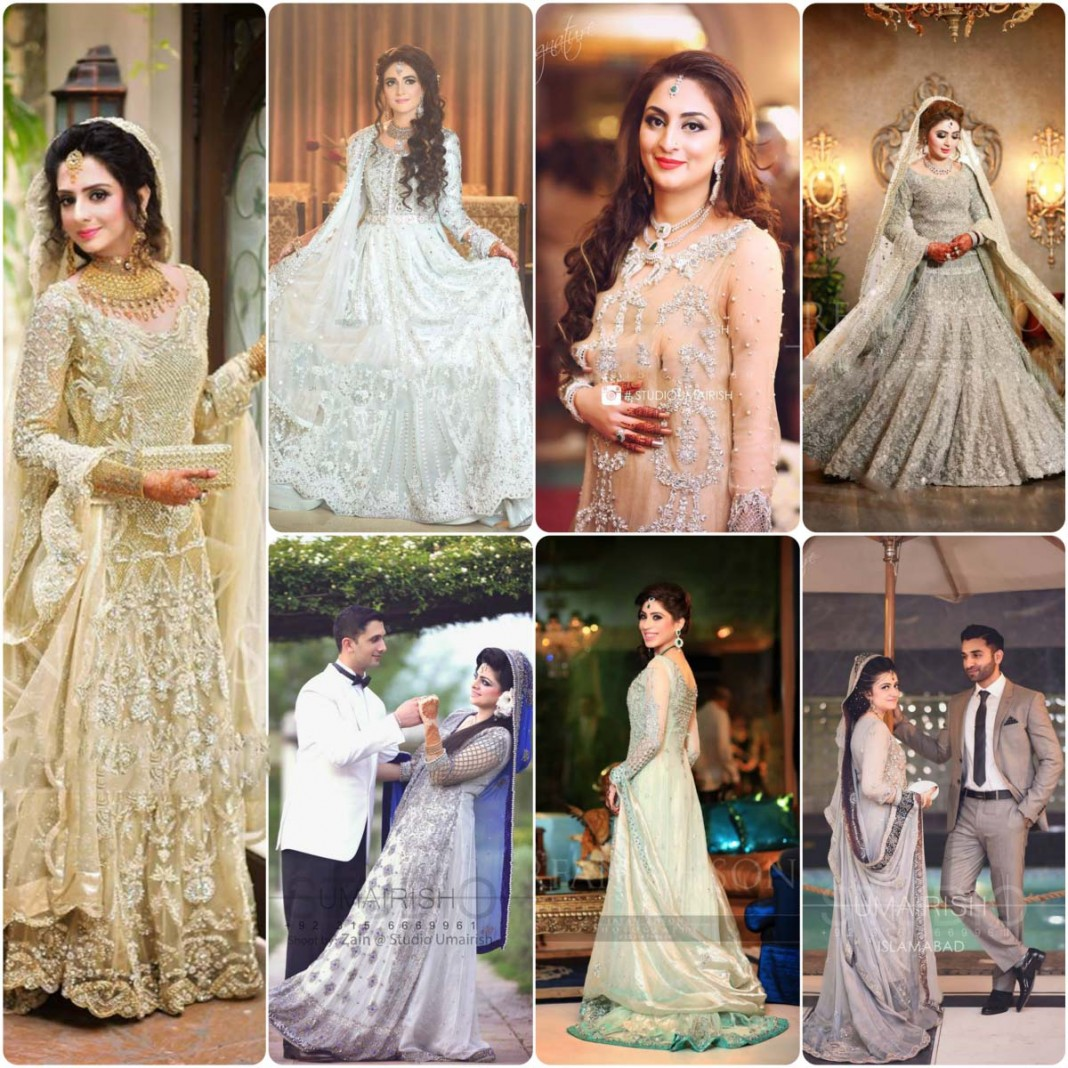 bridal walima dress designs and trends 2016-2017