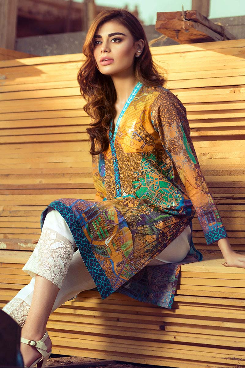 Latest Gul Ahmed Digital Dreams Collection 2016 | Stylo Planet