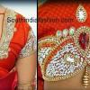 Kundan Work Sarees..styloplanet (5)