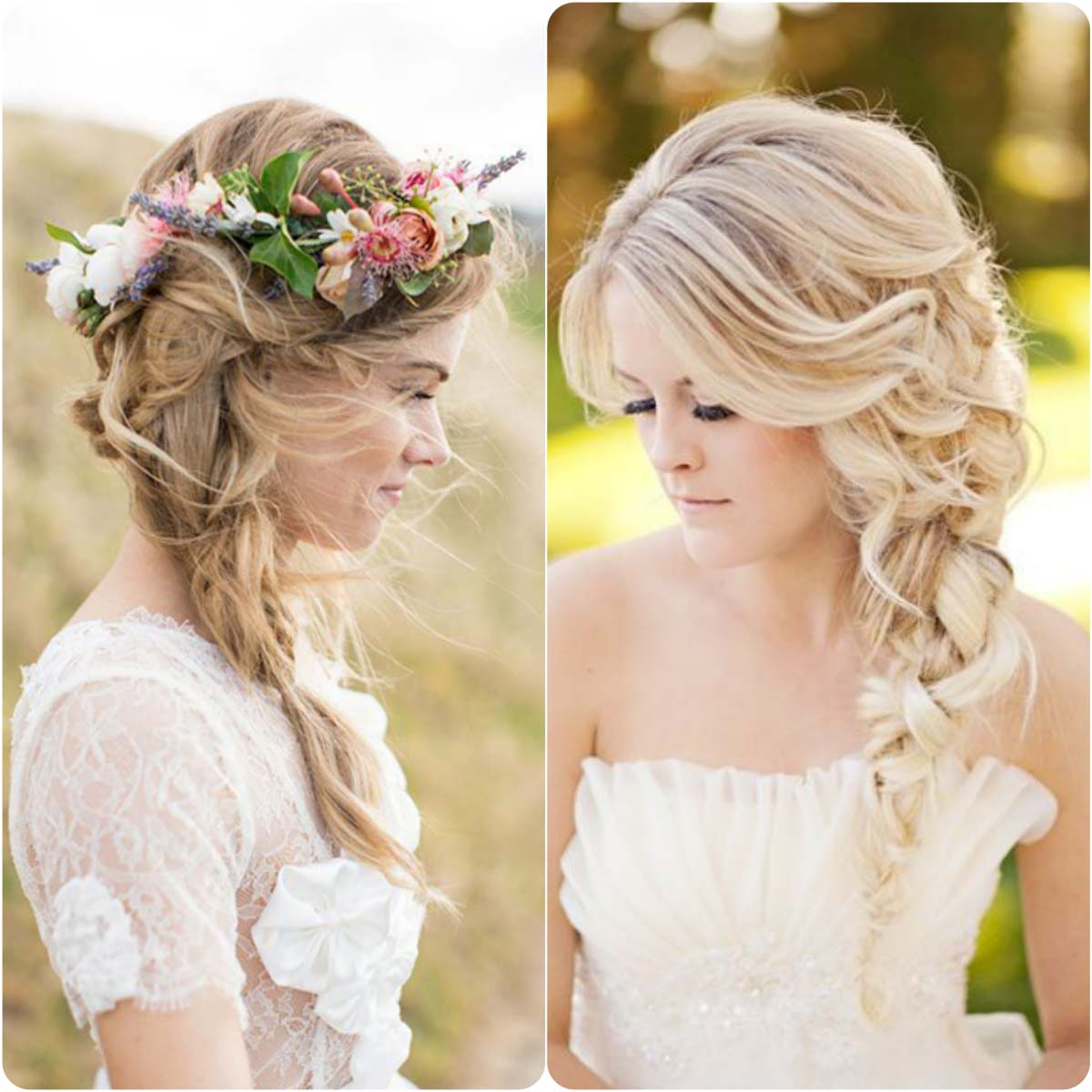 20 Best Wedding Braided Hairstyles For bridals 2016-2017