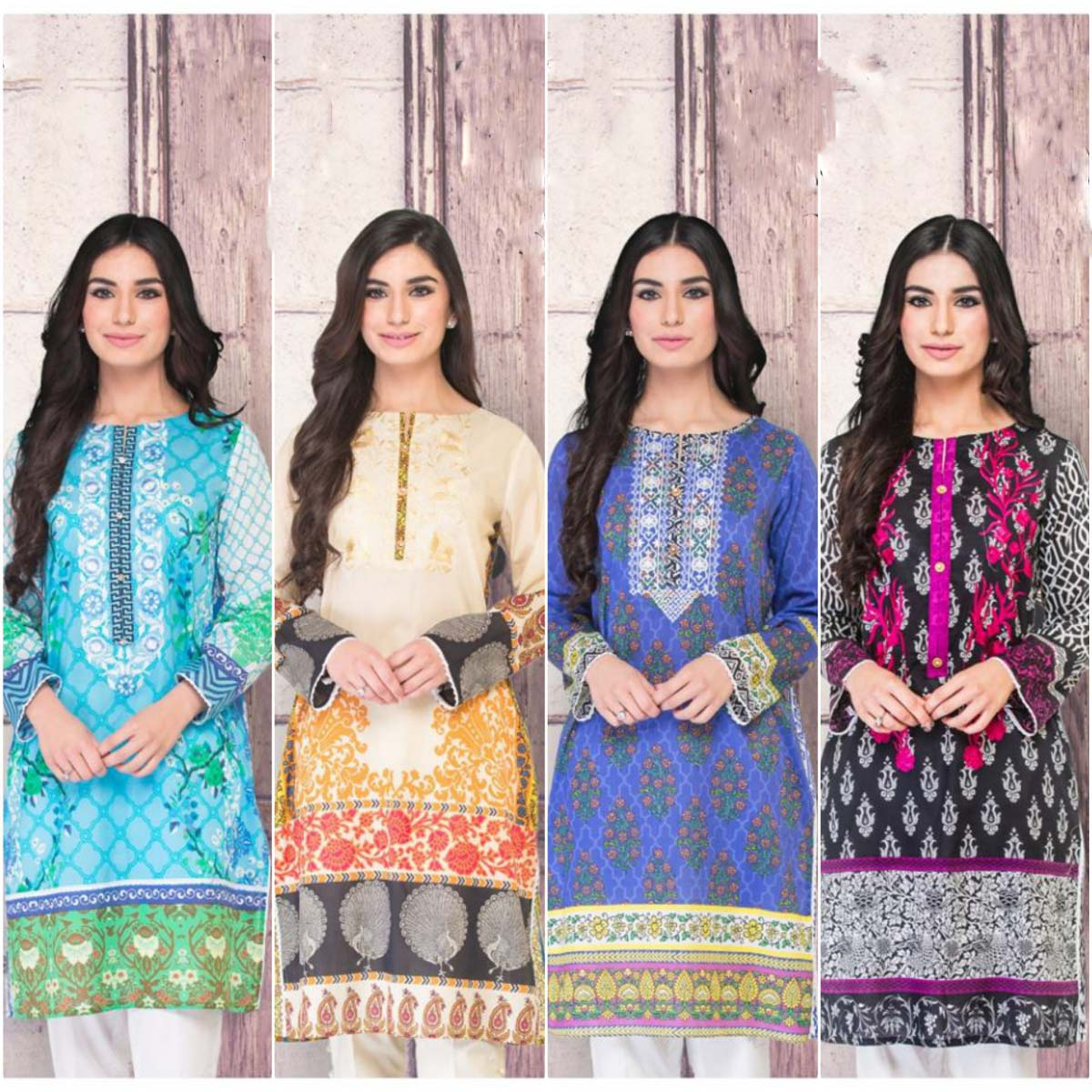 So Kamal Digital Embroidered Pret Wear Collection 2016-2017