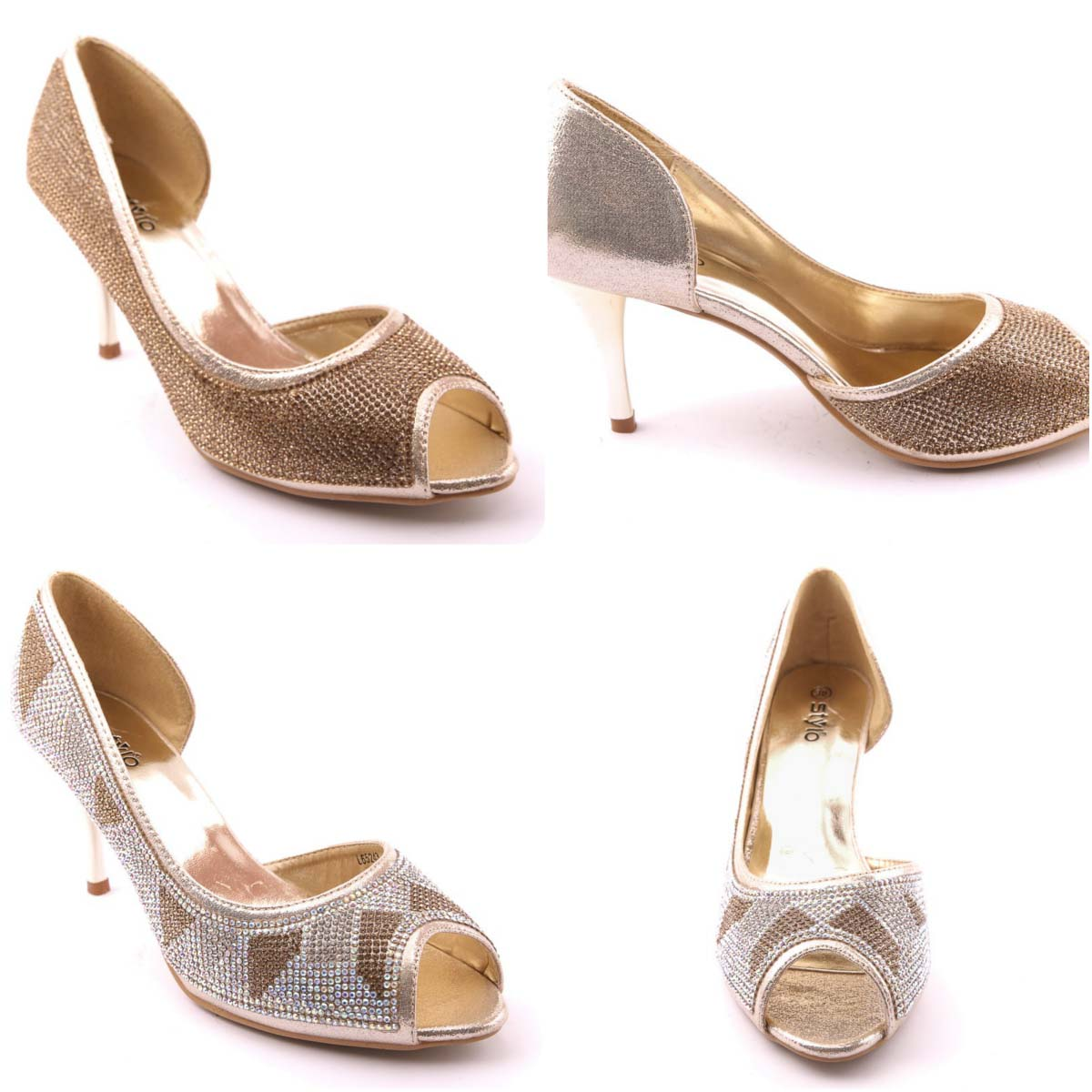 236d86e06f3871 Stylo Shoes Wedding Footwear Collection For Women 2016-2017…styloplanet (18)