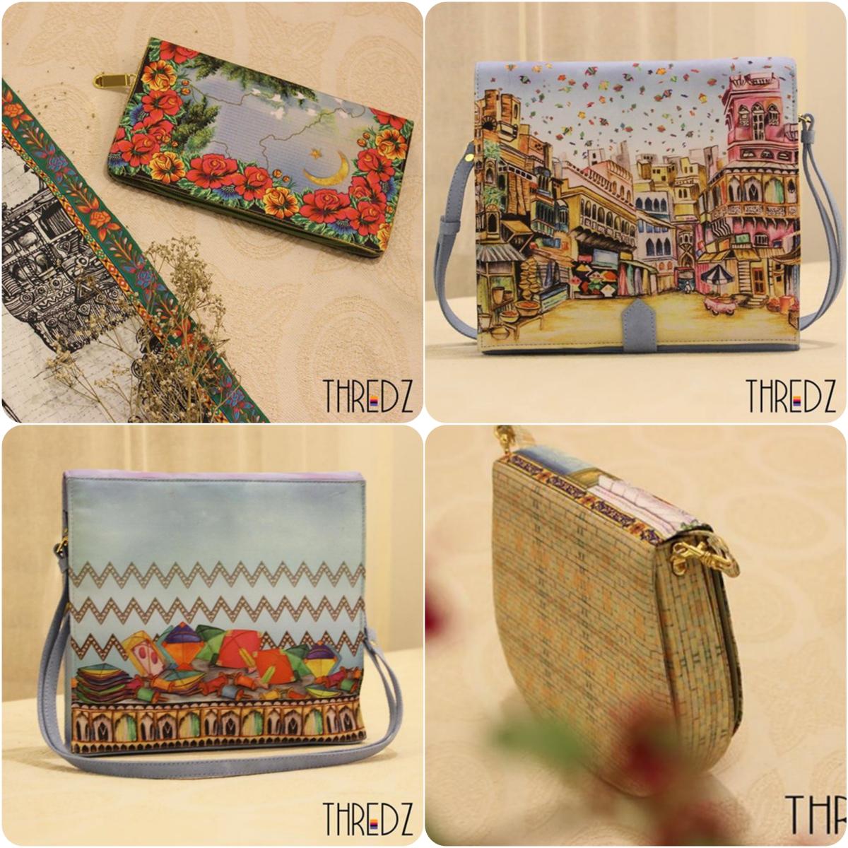 484a55797a05 Handbags Collection By Thredz For Women 2018
