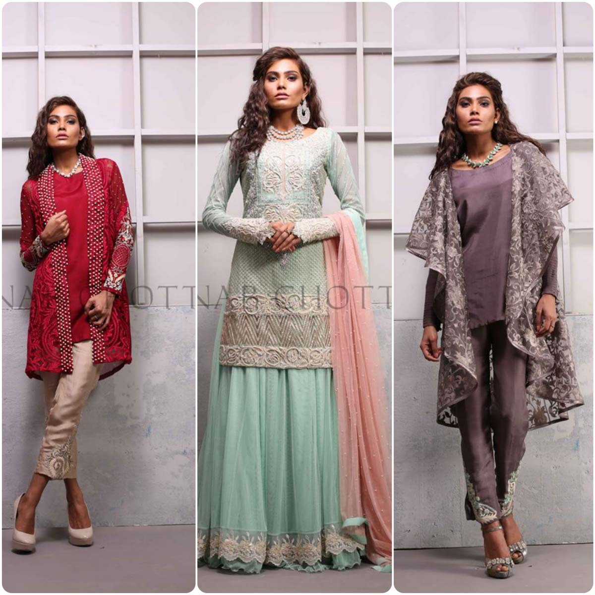 8f9840d747 Shariq Textiles  Zainab Chottani Pret Collection 2016   Stylo Planet