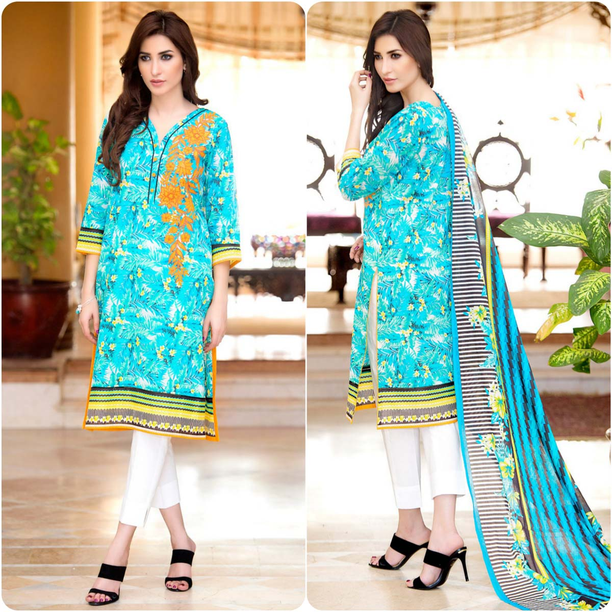 ff905bec18 Zeen By Cambridge Spring Summer Lawn Dresses Collection 2016-2017…styloplanet  (13)