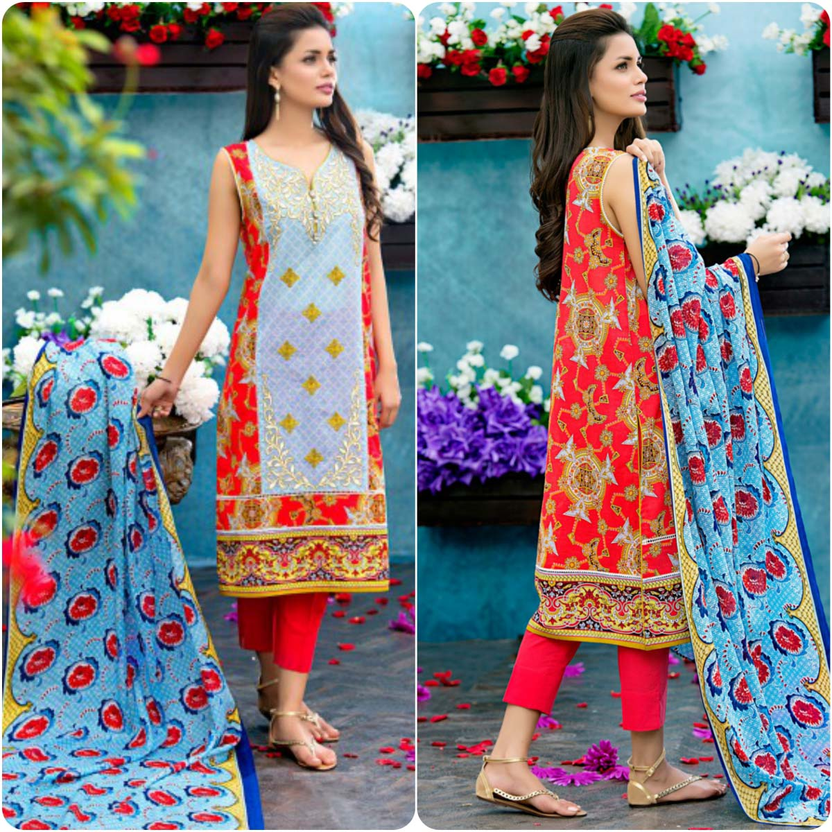 3d2861d65b Zeen By Cambridge Spring Summer Lawn Dresses Collection 2016-2017…styloplanet  (7)