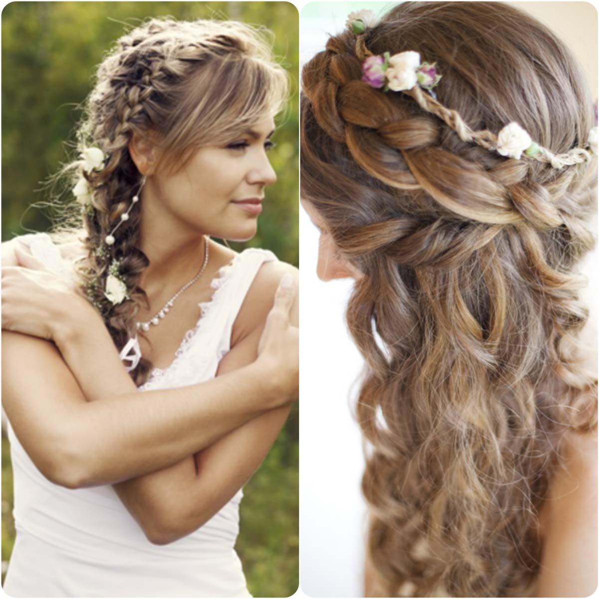 Wedding Hairstyle With Braids: 20 Braided Hairstyles For Wedding Brides 2016