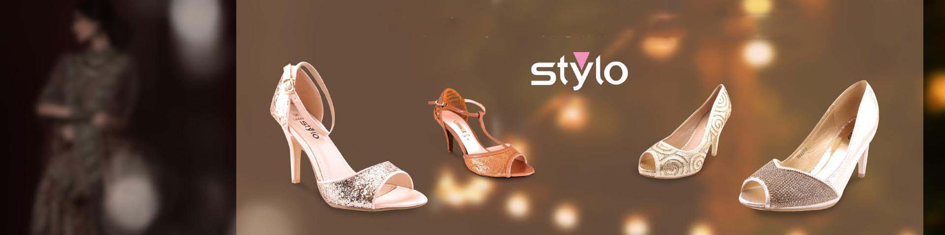 Stylo Shoes Wedding Footwear Collection For Women 2016-2017