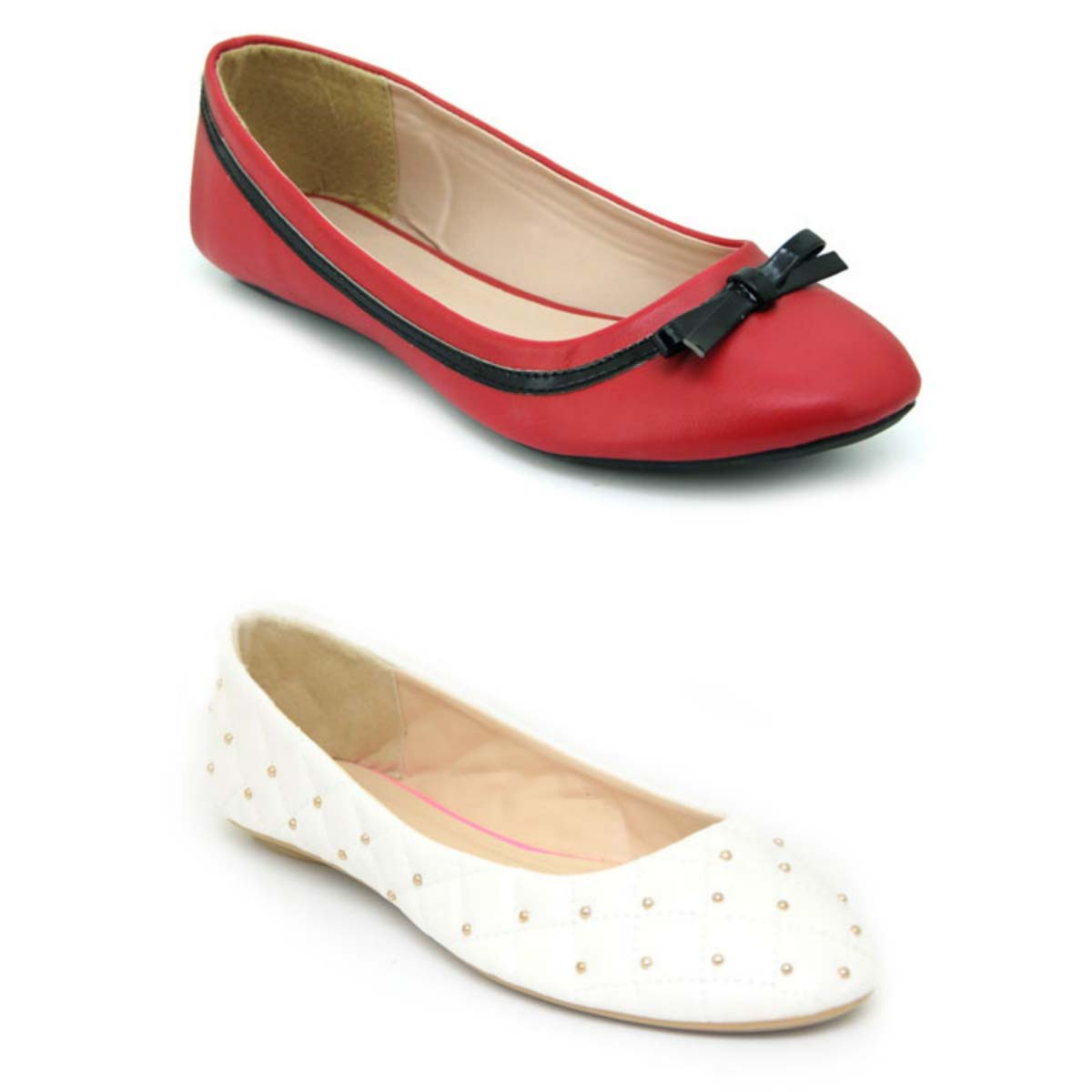 Bata Bata Ladies Casuals Red