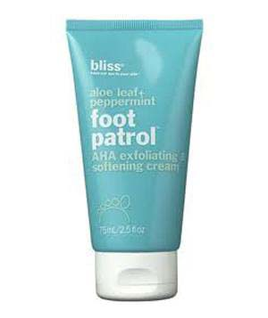 Bliss Foot Patrol Exfoliating Cream