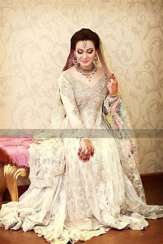 Bridal Engagement Dresses Designs Collection 2016-2017 (10)