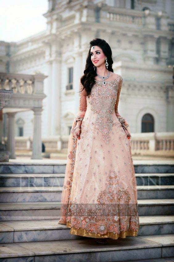 Bridal Engagement Dresses Designs Collection 2016-2017 (17)
