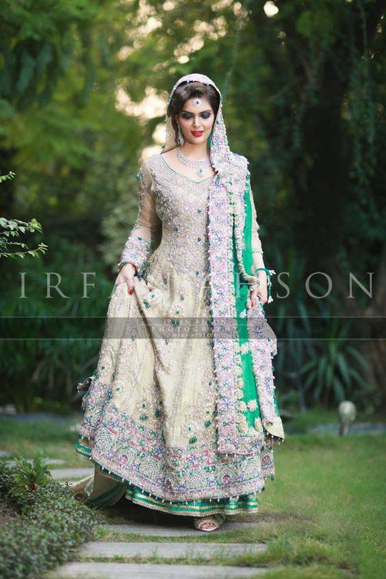 Bridal Engagement Dresses Designs Collection 2016-2017 (19)