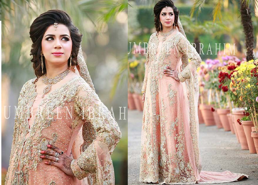 Bridal Engagement Dresses Designs Collection 2016-2017 (2)