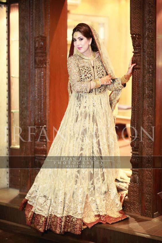 Bridal Engagement Dresses Designs Collection 2016-2017 (23)