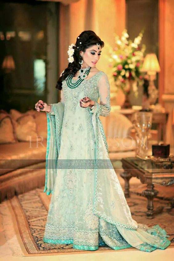 Bridal Engagement Dresses Designs Collection 2016-2017 (5)
