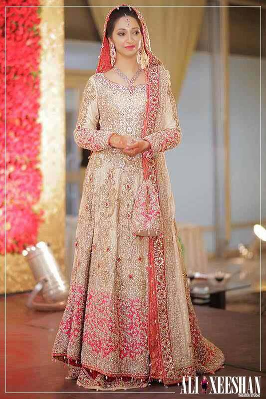 Bridal Engagement Dresses Designs Collection 2016-2017 (8)