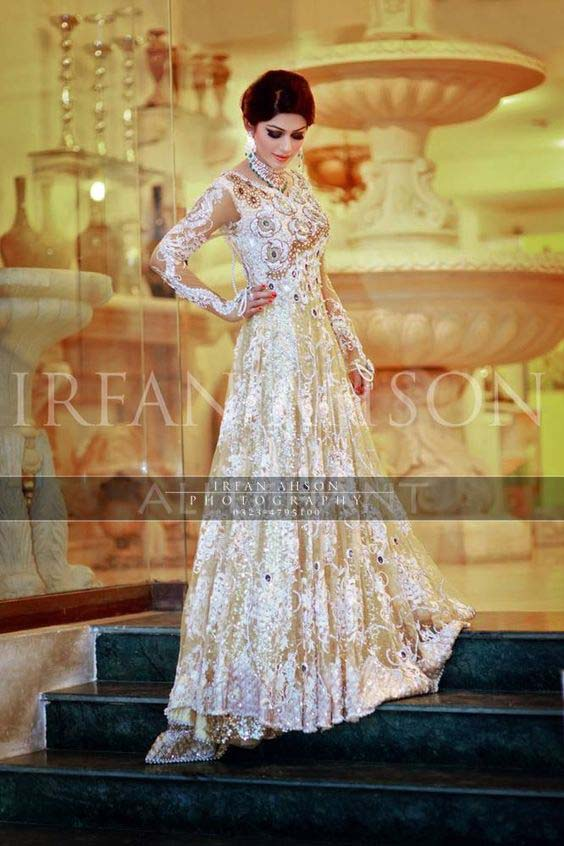 Bridal Engagement Dresses Designs Collection 2016-2017 (9)