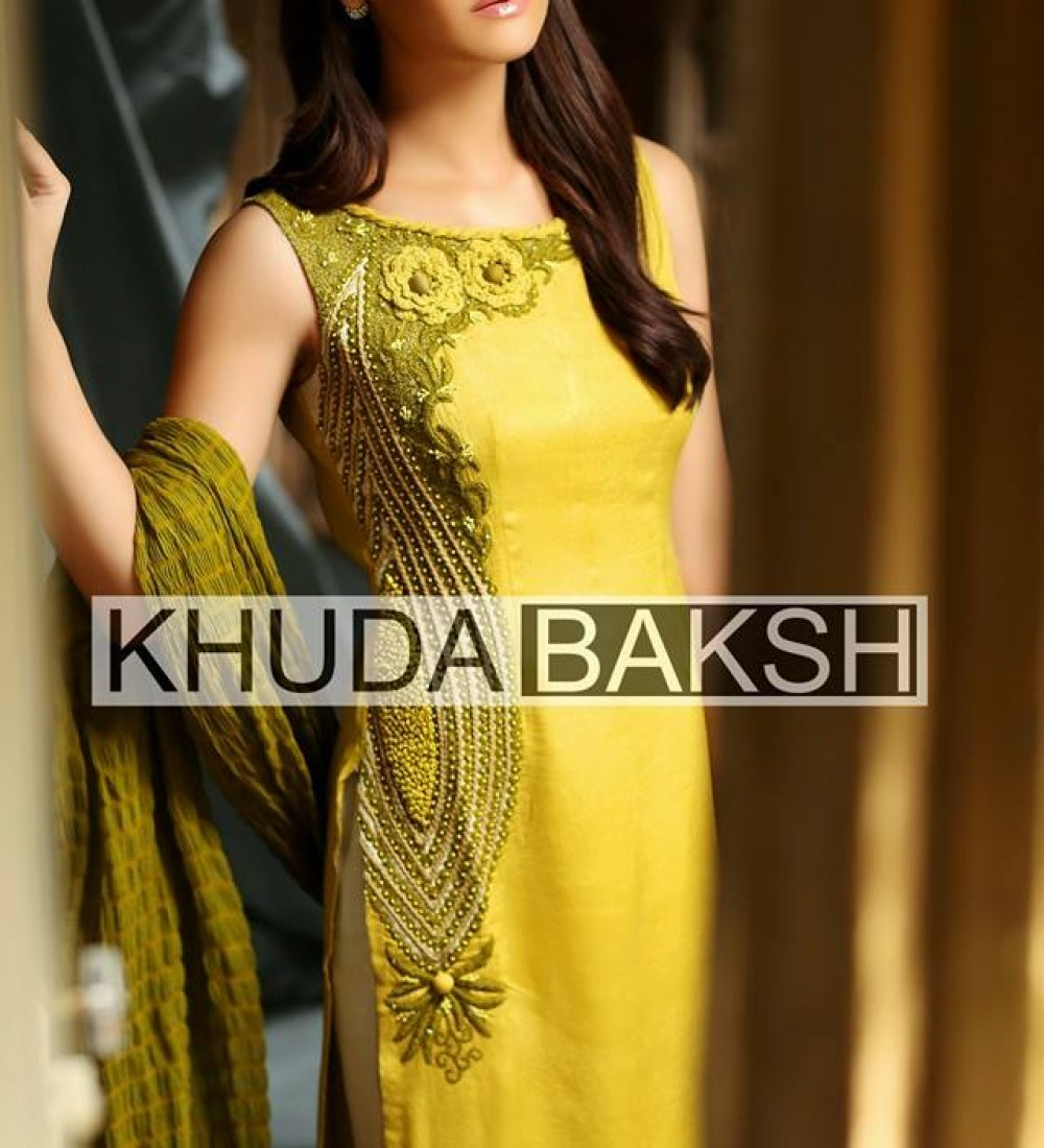 Khuda Baksh Latest Party Wear Collection For Women 2016-2017 (10)