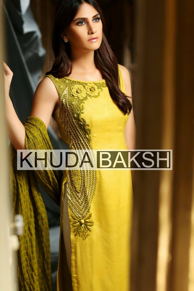 Khuda Baksh Latest Party Wear Collection For Women 2016-2017