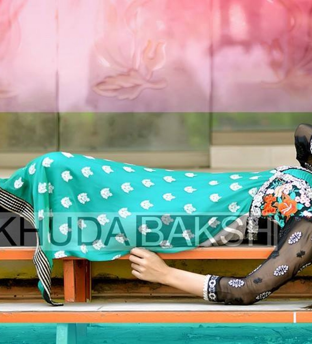 Khuda Baksh Latest Party Wear Collection For Women 2016-2017 (11)