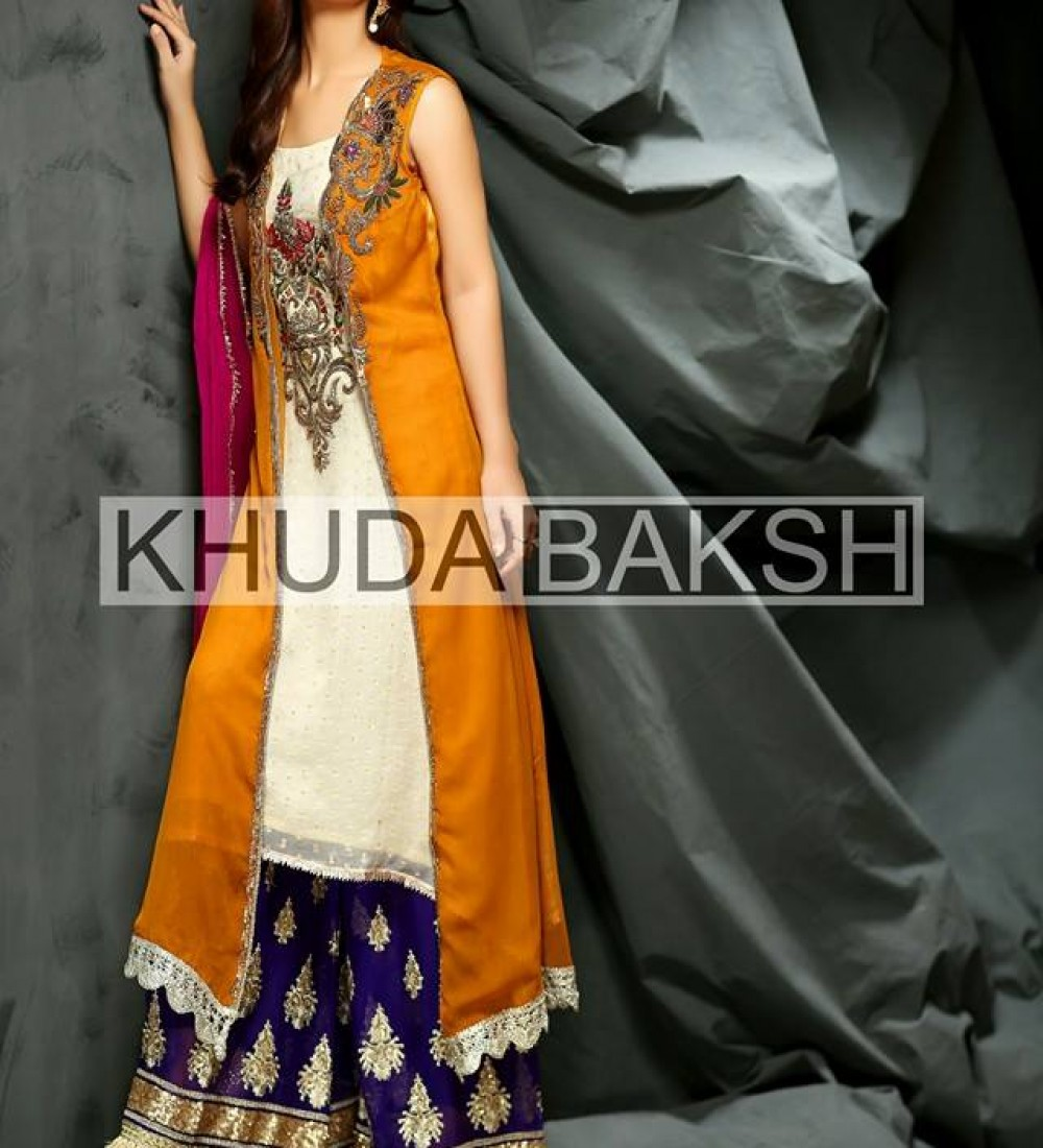 Khuda Baksh Latest Party Wear Collection For Women 2016-2017 (3)