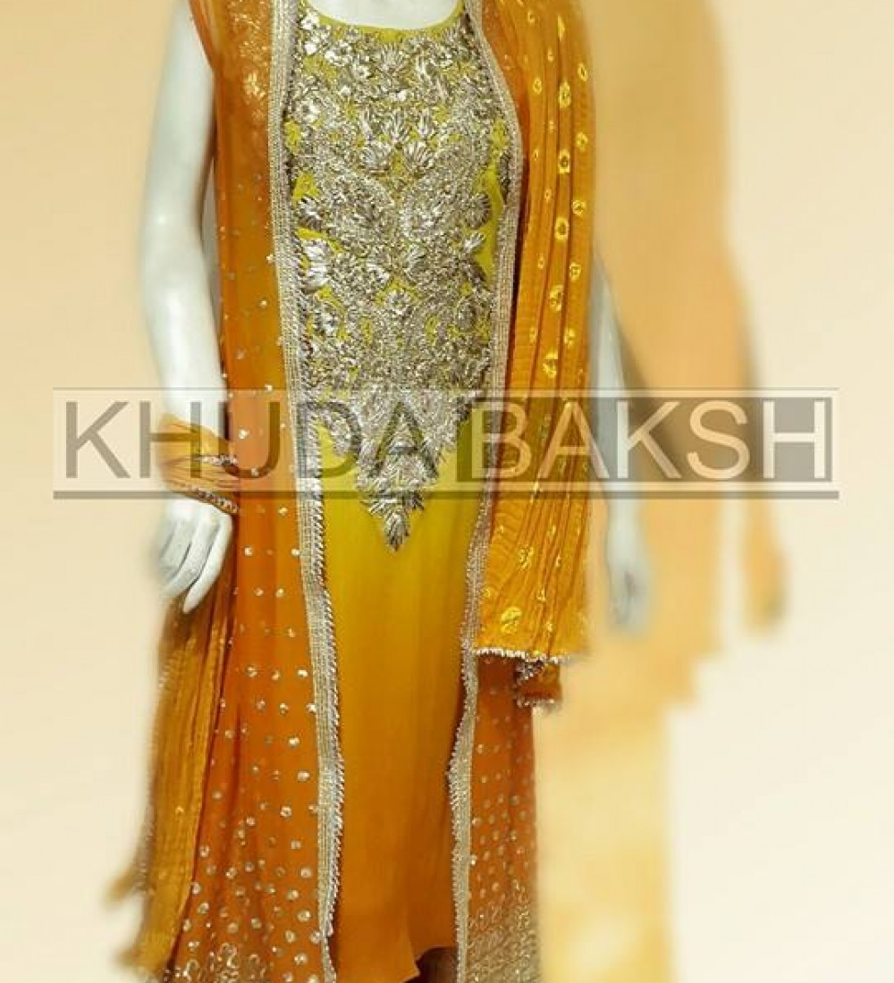 Khuda Baksh Latest Party Wear Collection For Women 2016-2017 (8)