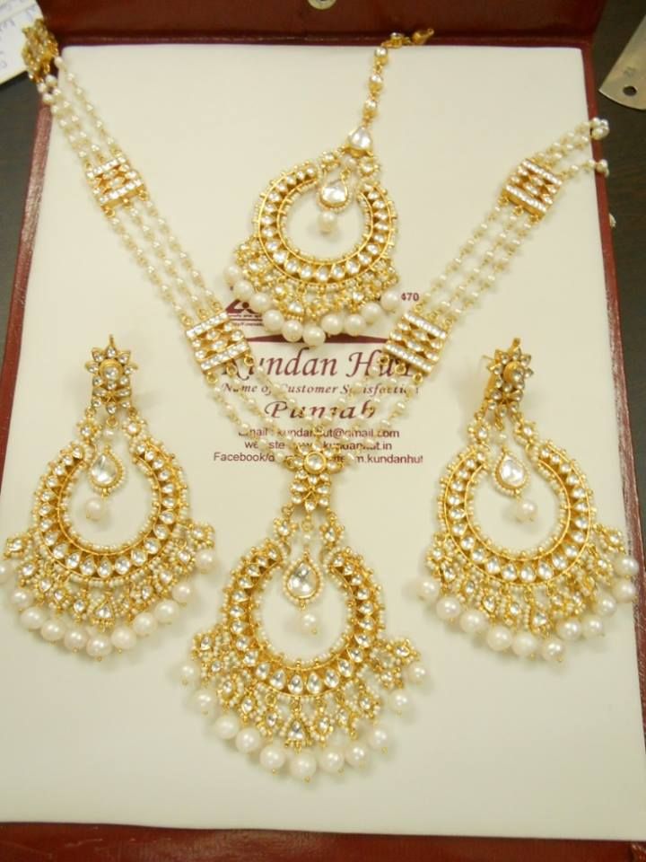 Latest Kundan Jewellery Designs & Trends for Asian Women 2016 (14)
