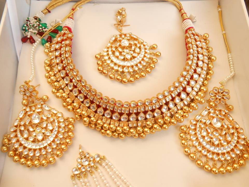 Latest Kundan Jewellery Designs & Trends for Asian Women 2016 (21)