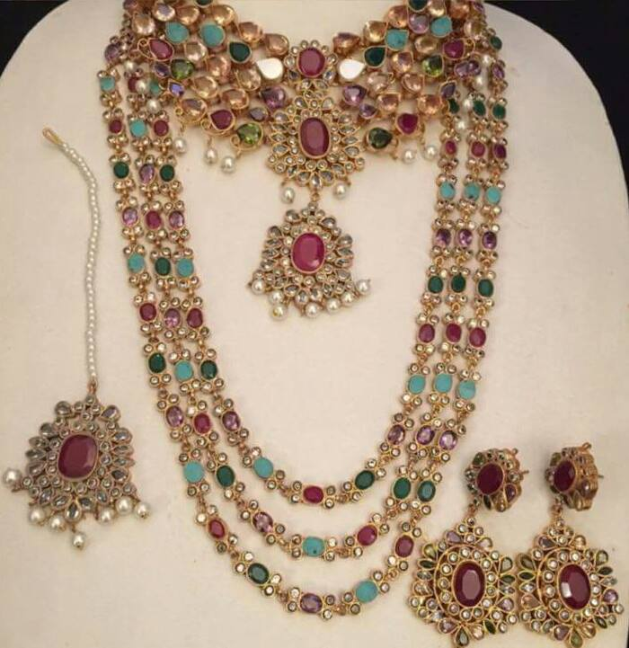 kundan necklaces designs collection