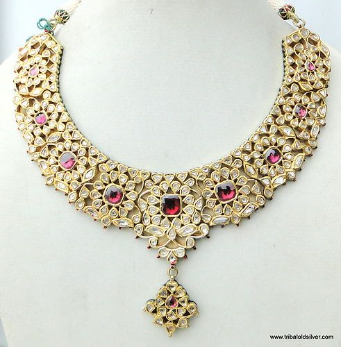 Latest Kundan Jewellery Designs & Trends for Asian Women 2016 (29)