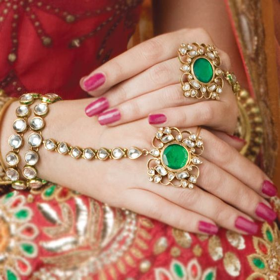 Latest Kundan Jewellery Designs & Trends for Asian Women 2016 (35)