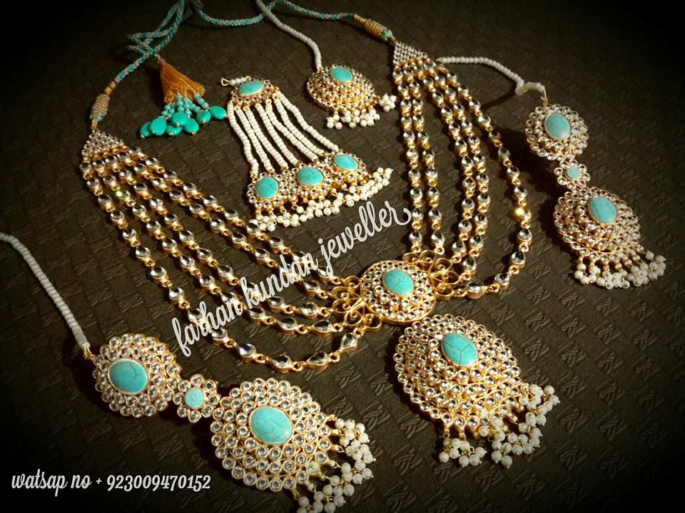 Latest Kundan Jewellery Designs & Trends for Asian Women 2016 (37)