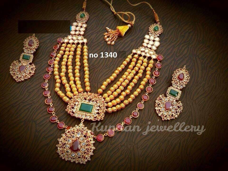Latest Kundan Jewellery Designs & Trends for Asian Women 2016 (8)