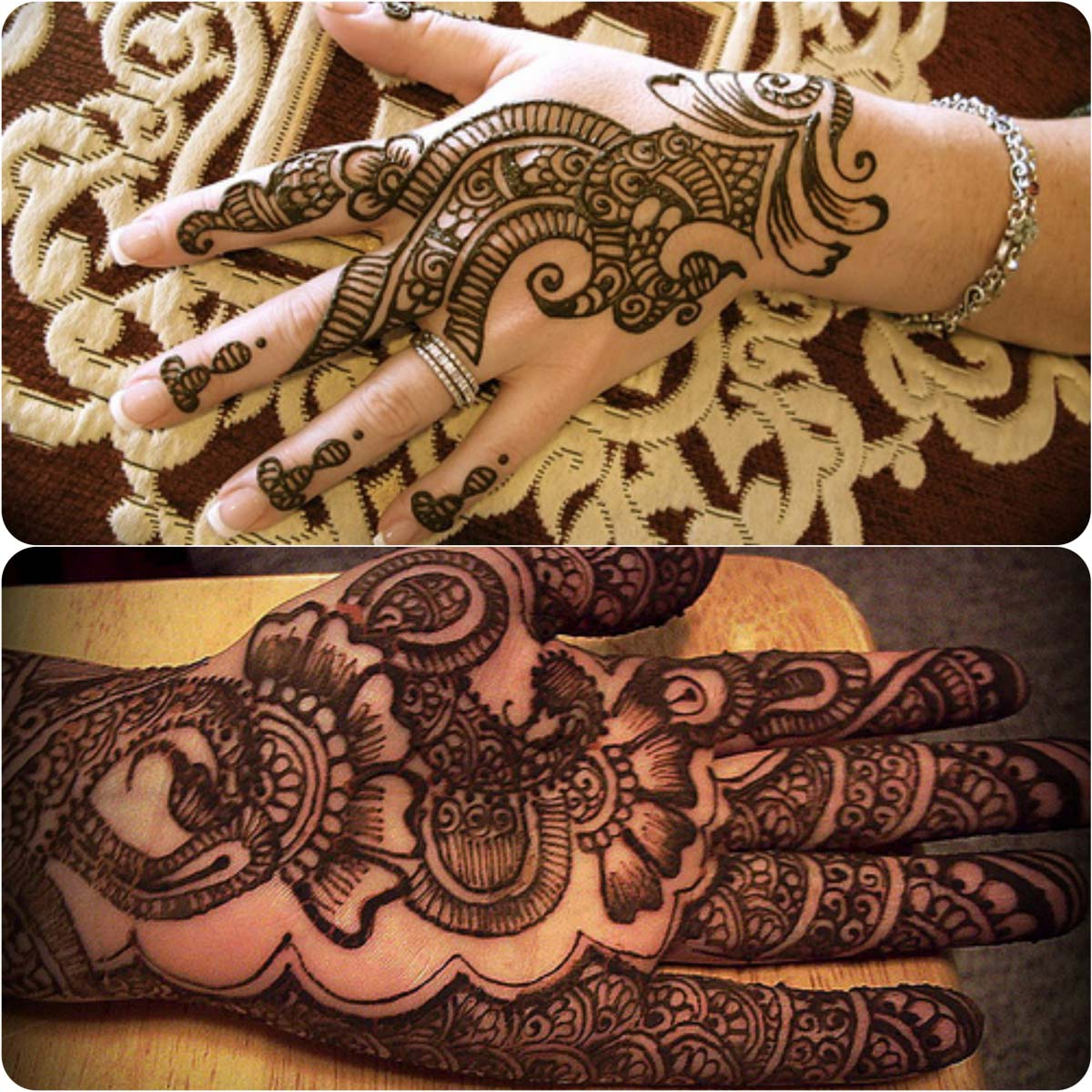 Latest Peacock Mehndi Designs For Girls 2016-2017 (5)