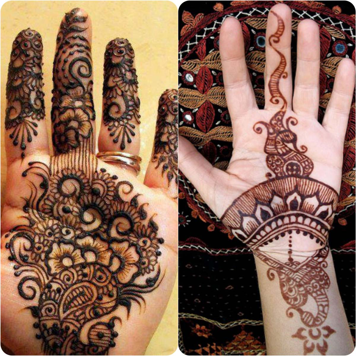 Latest Peacock Mehndi Designs For Girls 2016-2017 (7)