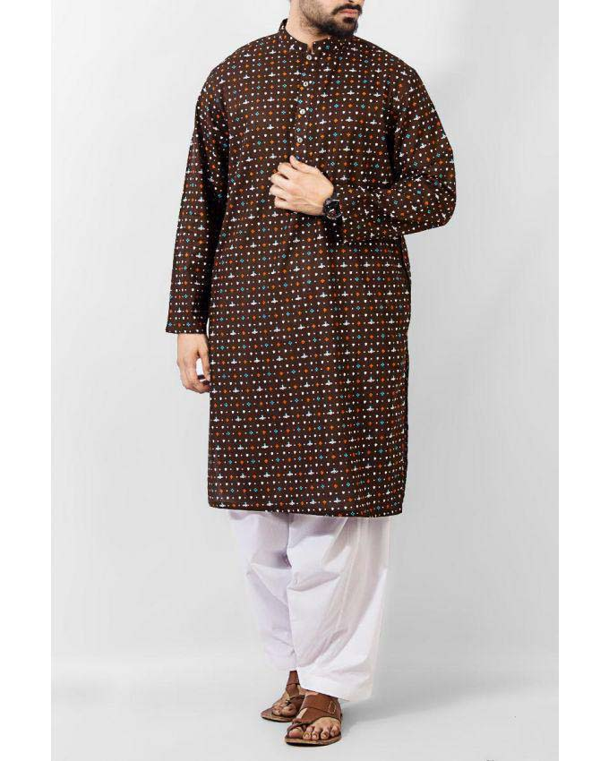 Latest Summer Men Kurta Shalwar Designs Collection 2016-2017 (20)