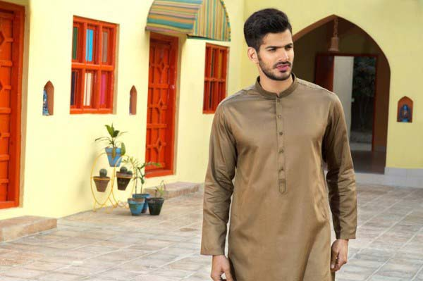 Latest Summer Men Kurta Shalwar Designs Collection 2016-2017 (21)
