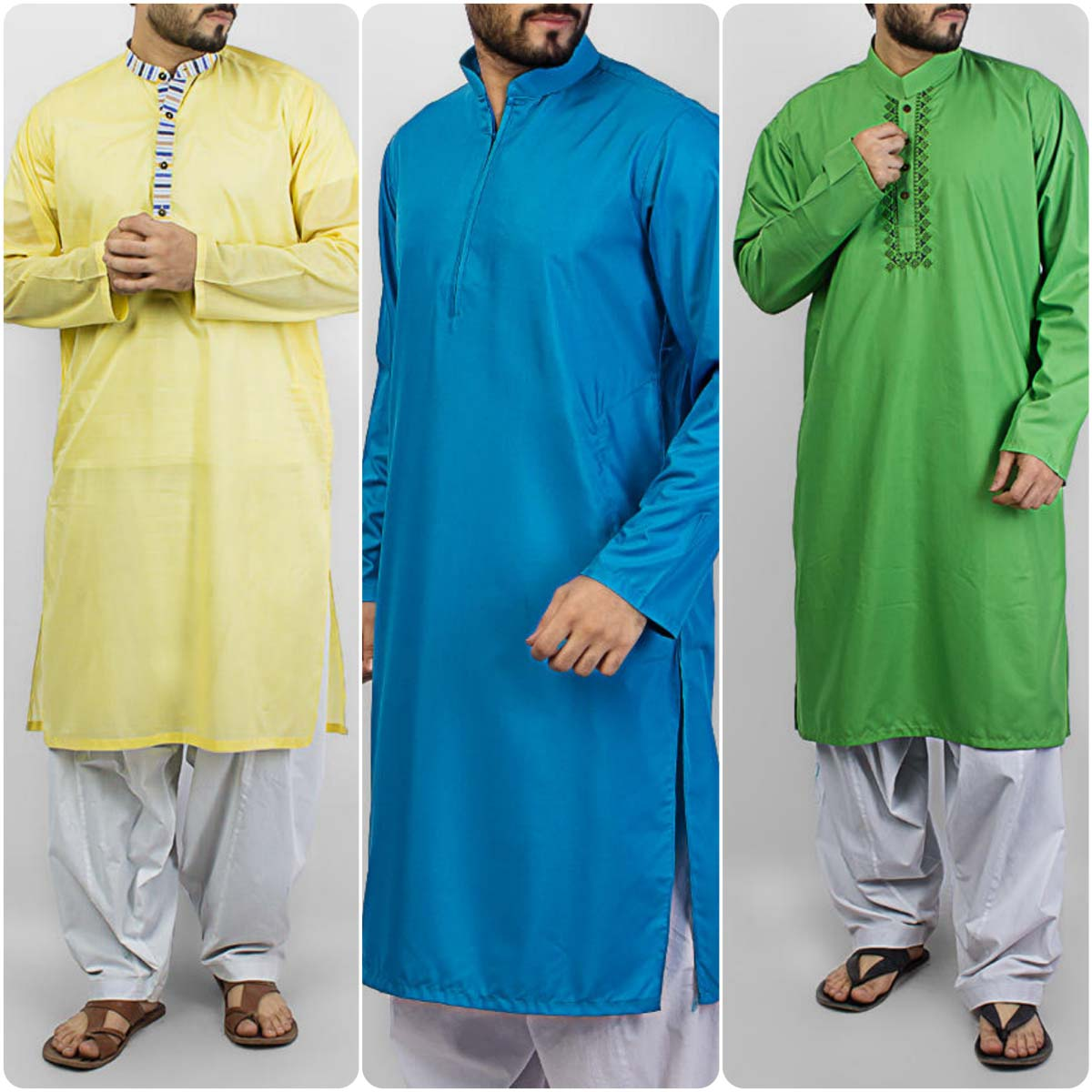 Designs of male and female fashion of shalwar kameez kurta designs - The Fashion